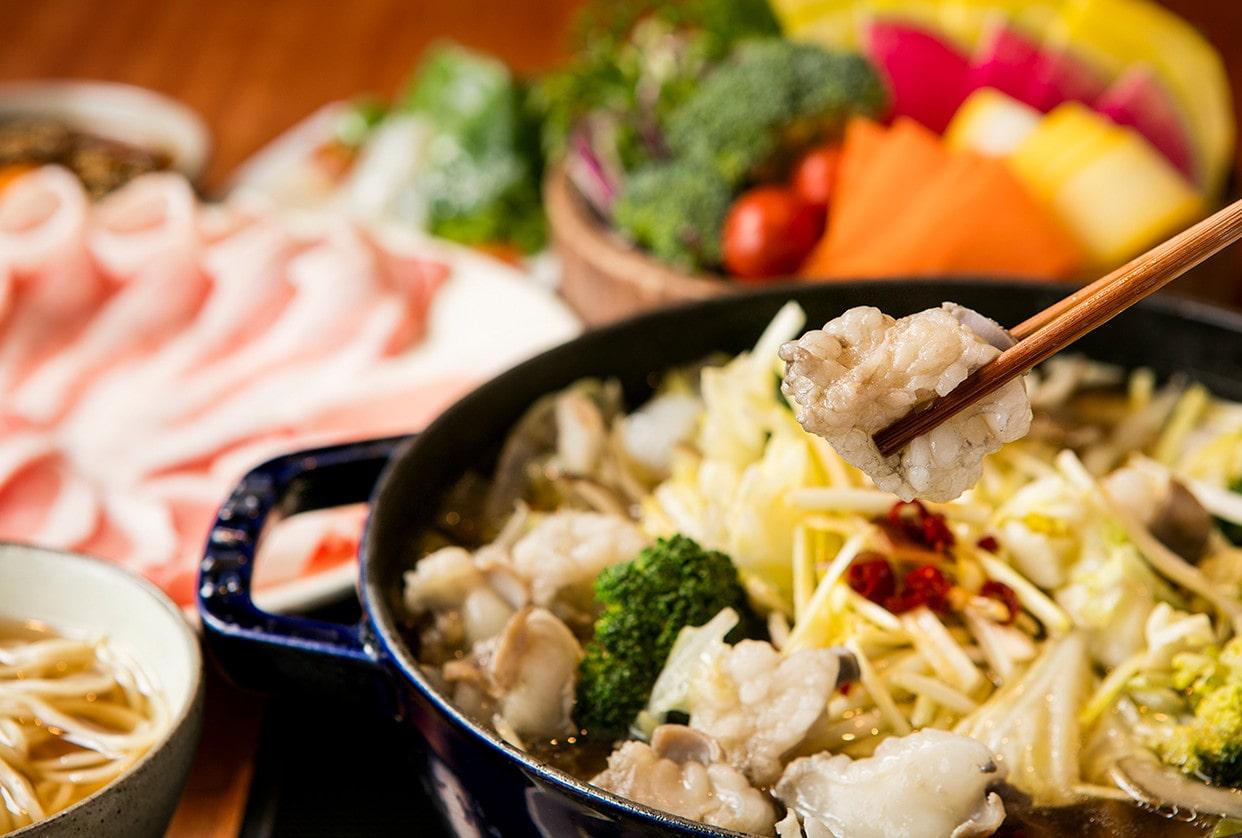 国産牛モツ鍋<br>食べ放題コース