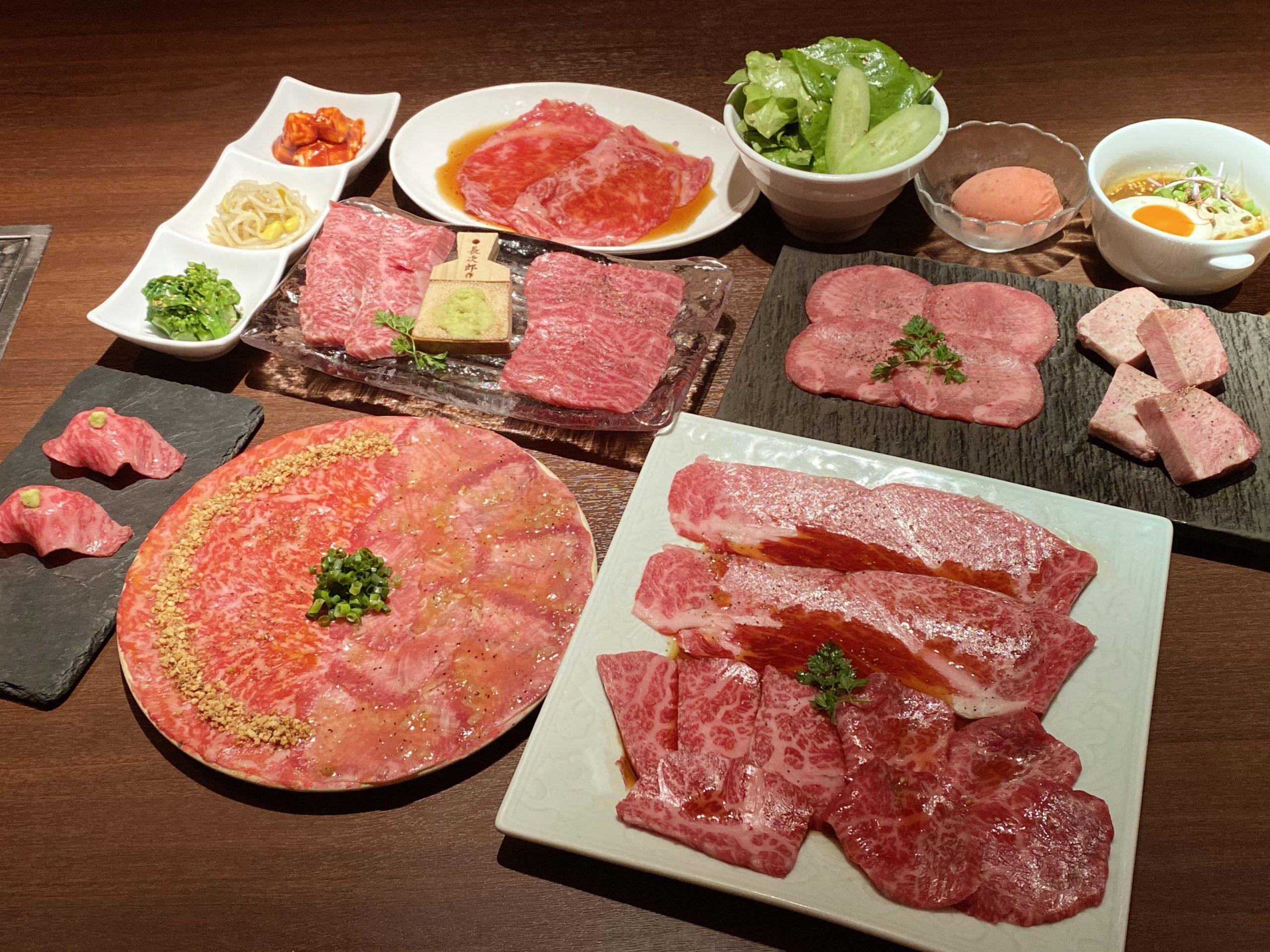 松阪牛・黒毛和牛 食べ比べ<br>コース