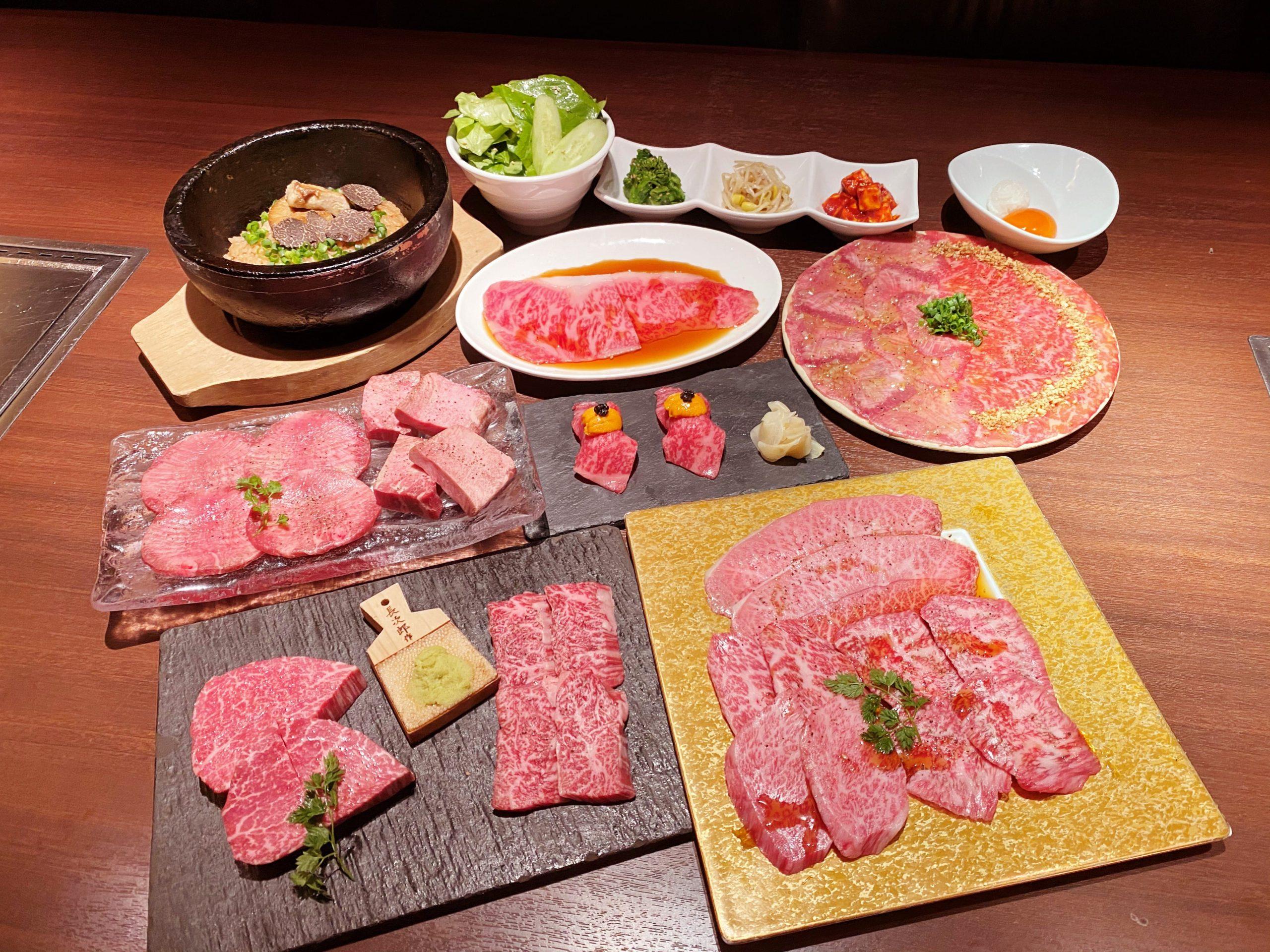 松阪牛フルコース