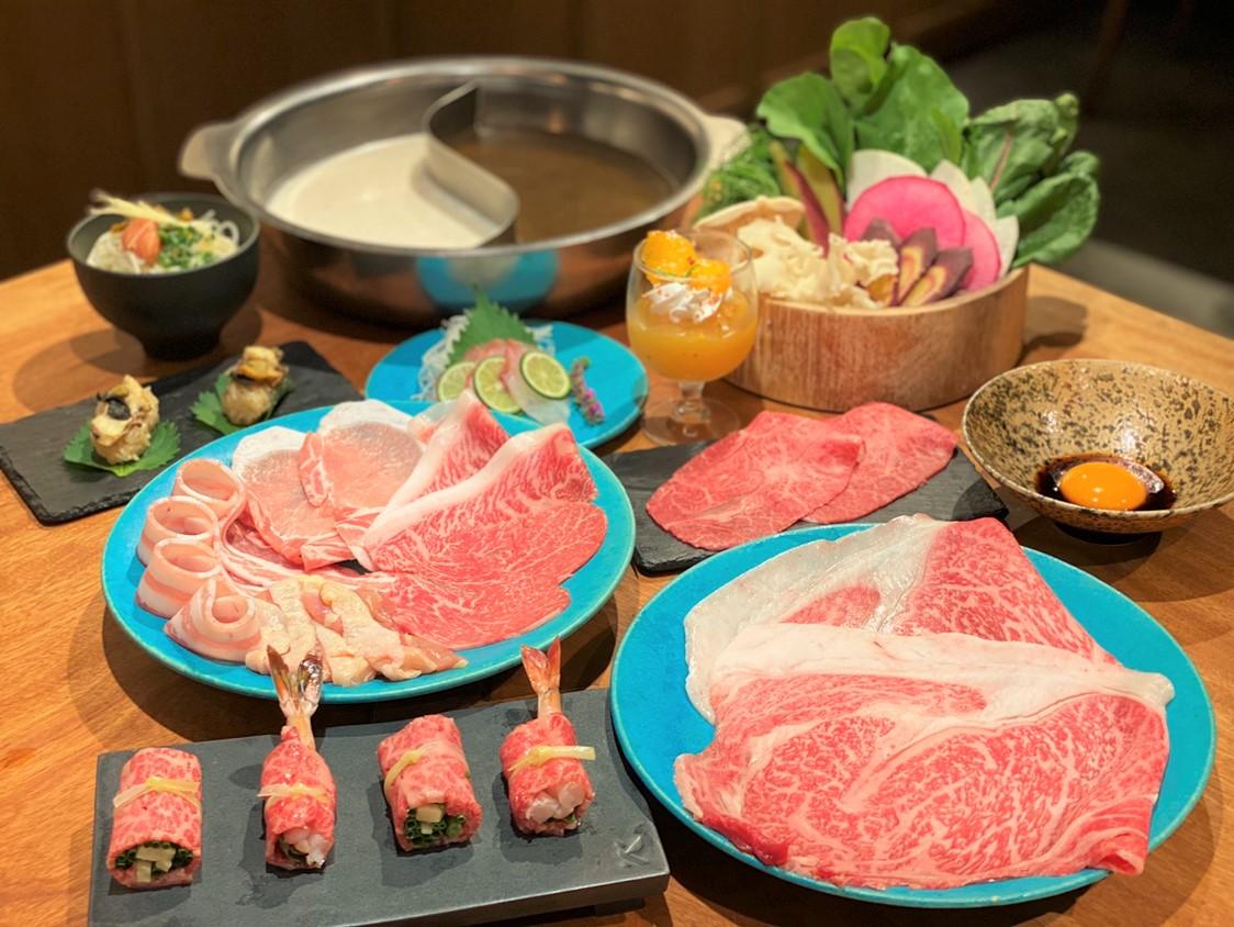 九州の旬の食材を味わう<br>4周年記念コース