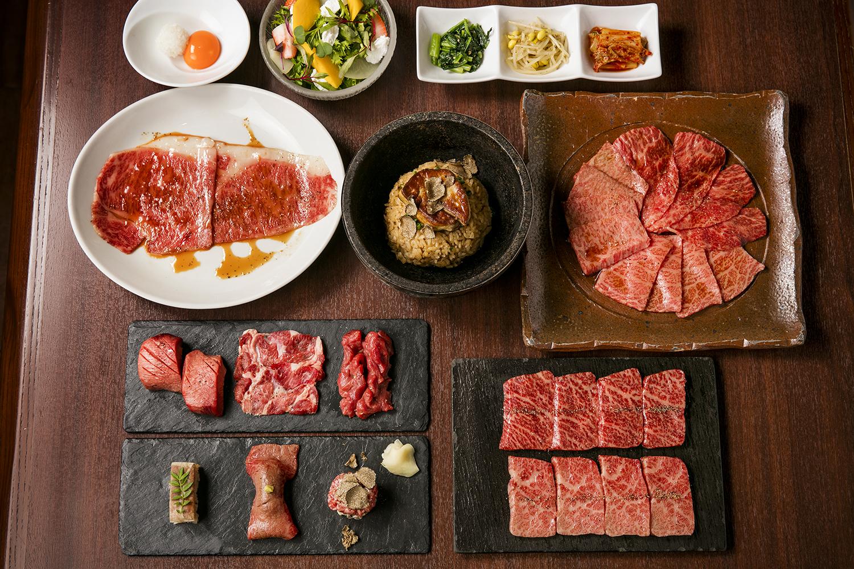 松阪牛と仙台牛の食べ比べ<br>銘柄牛堪能コース